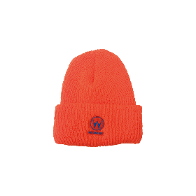 W-BASE STARTAC LOGO BEANIE NEON ORANGE
