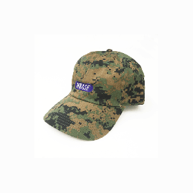 W-BASE TEAM LOGO 6PANNEL CAP DIGITAL CAMO