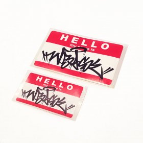 KAZZROCK x W-BASE - KRxWB EGGSHELL STICKER SET