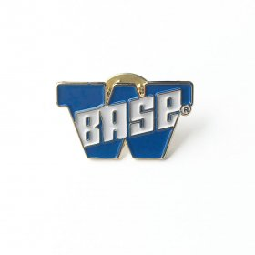 W-BASE - BIG W LOGO PIN - ROYAL BLUE
