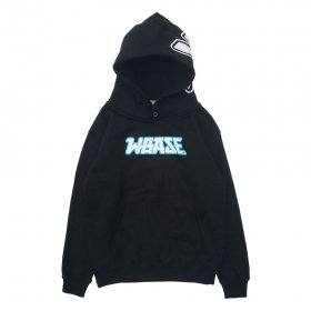 W-BASE K.O. KIDS PULL OVER HOODIE BLACK