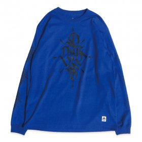 PNCK LONG SLEEVE TEE BLUE