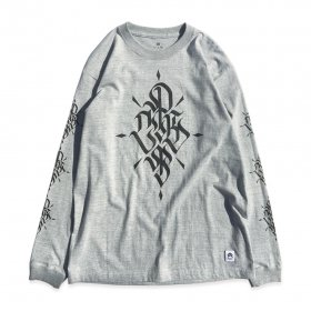 PNCK - LONG SLEEVE TEE - GREY
