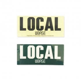 W-BASE - STICKER LOCAL