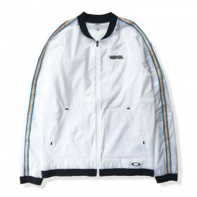 W-BASE x OAKLEY - RSWR SHELL MA JACKET  - WHITE