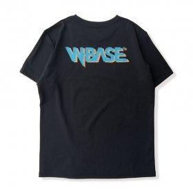 W-BASE x OAKLEY - RSQD VEIL SS TEE.4 - BLACK