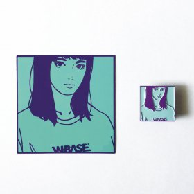 KYNE x W-BASE 13th Anniversary Edition PIN & STICKER PACK