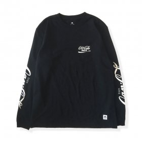 PANCAKE - SAMPLING L/S TEE - BLACK