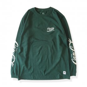 PANCAKE SAMPLING L/S TEE GREEN
