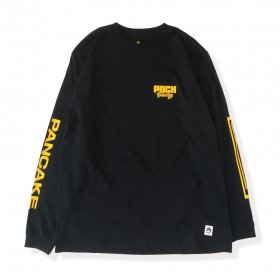 PANCAKE - RACING L/S TEE - BLACK