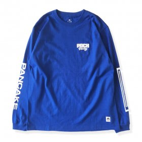 PANCAKE - RACING L/S TEE - BLUE