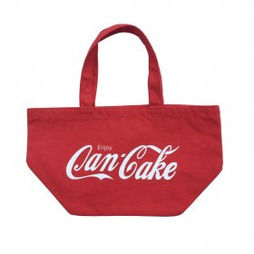 PANCAKE - SAMPLING LOGO LUNCH TOTE BAG - RED