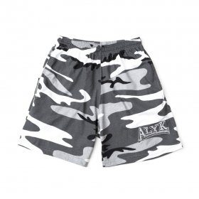 Act Like You Know - Combat Cotton Twill Work Out Shorts - Snow Camo