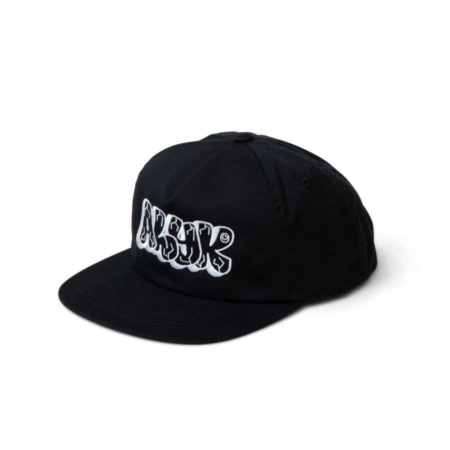 Act Like You Know -  College 6 Panel Hat - Black