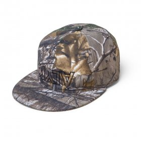 Act Like You Know -  College 6 Panel Hat - Real Tree
