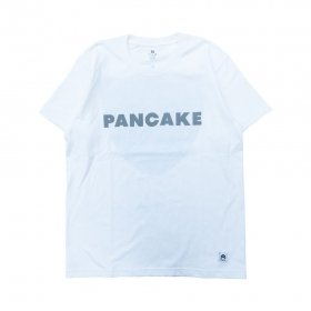 PANCAKE - RACING TEE - WHITE