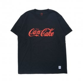 PANCAKE - SAMPLING LOGO TEE - BLACK