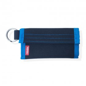 W-BASE x CRANK COIN WALLETS  BLACK/BLUE