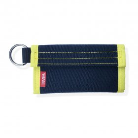 W-BASE x CRANK COIN WALLETS  BLACK/YELLOW