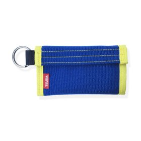 W-BASE x CRANK COIN WALLETS  BLUE/YELLOW
