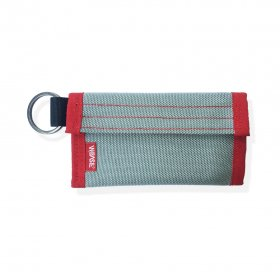 W-BASE x CRANK COIN WALLETS  GREY/RED