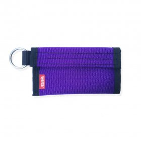 W-BASE x CRANK COIN WALLETS  PURPLE/BLACK
