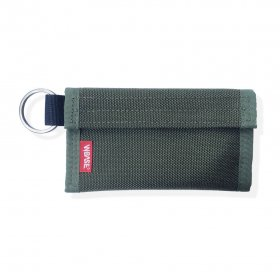 W-BASE x CRANK COIN WALLETS  OLIVE/RED