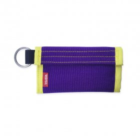 W-BASE x CRANK COIN WALLETS  PURPLE/YELLOW