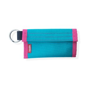 W-BASE x CRANK COIN WALLETS  TEAL/PINK/WHITE