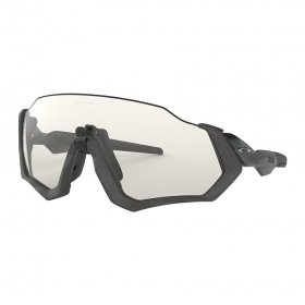 OAKLEY - FLIGHT JACKET - Clear Black Iridium Photochromic Activated