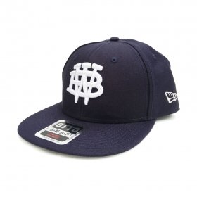 W-BASE - COLLEGE MARK B.B CAP - NAVY