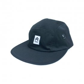 PANCAKE - ICON MILITARY CAP - BLACK