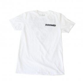 DOOMED - LAD T-SHIRTS - WHITE