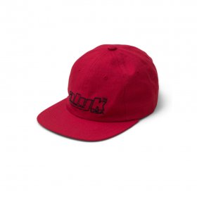 Act Like You Know - Racing Logo Cotton Rip Stop 6 Panel Hat - Red