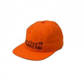 Act Like You Know - Racing Logo Cotton Rip Stop 6 Panel Hat - Orange