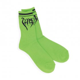 W-BASE x KaneZ x LHP - LOGO SOCKS - GREEN