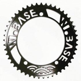 W-BASE x BESPOKE - CHAINRINGS - 49T - BLACK