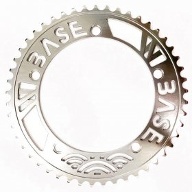 W-BASE x BESPOKE - CHAINRINGS - 49T - SILVER