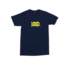 <img class='new_mark_img1' src='https://img.shop-pro.jp/img/new/icons5.gif' style='border:none;display:inline;margin:0px;padding:0px;width:auto;' />DOOMED - BUDS T-SHIRTS - NAVY