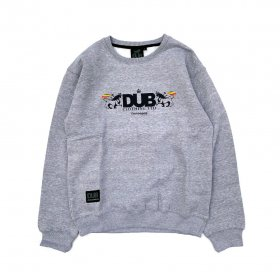 <img class='new_mark_img1' src='https://img.shop-pro.jp/img/new/icons5.gif' style='border:none;display:inline;margin:0px;padding:0px;width:auto;' />DUB - CREST CREW NECK SWEAT