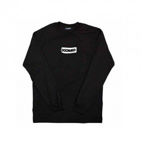 <img class='new_mark_img1' src='https://img.shop-pro.jp/img/new/icons5.gif' style='border:none;display:inline;margin:0px;padding:0px;width:auto;' />DOOMED - STICKY LONG SLEEVE TEE - BLACK