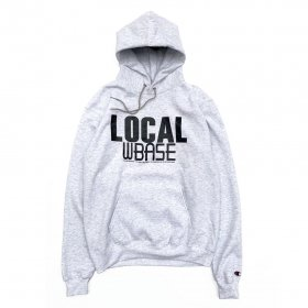 <img class='new_mark_img1' src='//img.shop-pro.jp/img/new/icons5.gif' style='border:none;display:inline;margin:0px;padding:0px;width:auto;' />W-BASE - LOCAL PULLOVER HOODIE - GREY