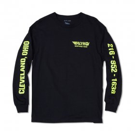 <img class='new_mark_img1' src='//img.shop-pro.jp/img/new/icons5.gif' style='border:none;display:inline;margin:0px;padding:0px;width:auto;' />Act Like You Know - Hazmat Long Sleeve T-Shirt - Black