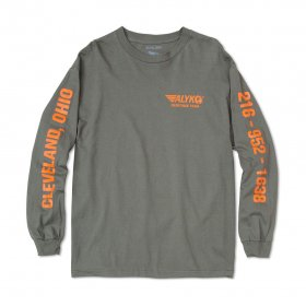 Act Like You Know - Hazmat Long Sleeve T-Shirt - Army green