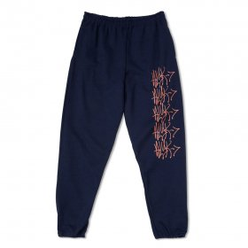 <img class='new_mark_img1' src='//img.shop-pro.jp/img/new/icons5.gif' style='border:none;display:inline;margin:0px;padding:0px;width:auto;' />Act Like You Know Arrow - Sweat Pants - Navy