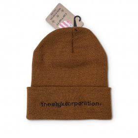 Act Like You Know - ALYK. Corp. X Carhartt Beanie - Brown
