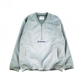 <img class='new_mark_img1' src='//img.shop-pro.jp/img/new/icons5.gif' style='border:none;display:inline;margin:0px;padding:0px;width:auto;' />W-BASE x FAKIE/STANCE - NYLON HALF ZIP JKT - GREY