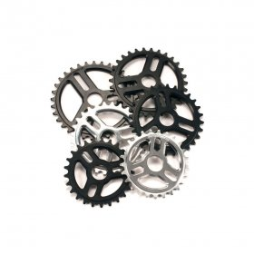 <img class='new_mark_img1' src='//img.shop-pro.jp/img/new/icons5.gif' style='border:none;display:inline;margin:0px;padding:0px;width:auto;' />*UNITED - ROTARY SPROCKET - 25T, BOLT DRIVE - BLACK