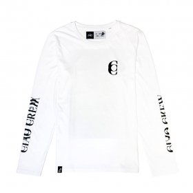 <img class='new_mark_img1' src='https://img.shop-pro.jp/img/new/icons5.gif' style='border:none;display:inline;margin:0px;padding:0px;width:auto;' />CIAO - MIRROR - LONGSLEEVE - WHITE