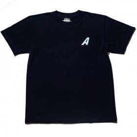 <img class='new_mark_img1' src='//img.shop-pro.jp/img/new/icons5.gif' style='border:none;display:inline;margin:0px;padding:0px;width:auto;' />*ALIVE INDUSTRY - A LOGO T SHIRT - BLACK